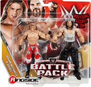WWE Battle Packs 48 Shawn Michaels & Diesel