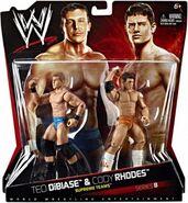 WWE Battle Packs 8 Ted Dibiase & Cody Rhodes
