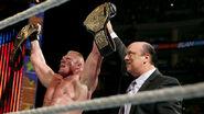 WWE World Heavyweight Champion - Brock Lesnar