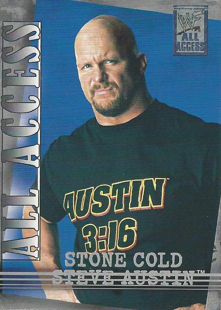 2002 WWF All Access (Fleer) Stone Cold Steve Austin (No.35)