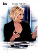 2017 WWE Women's Division (Topps) Renee Young 35