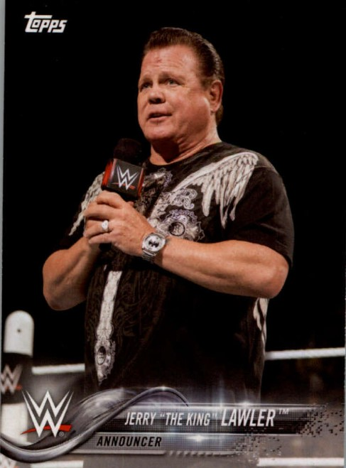 2018 WWE Wrestling Cards (Topps) Jerry Lawler (No.38)