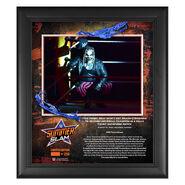 Bray Wyatt SummerSlam 2020 15x17 Commemorative Plaque