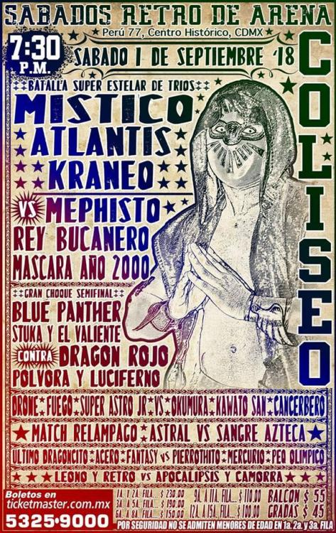 CMLL Sabados De Coliseo (September 1, 2018)