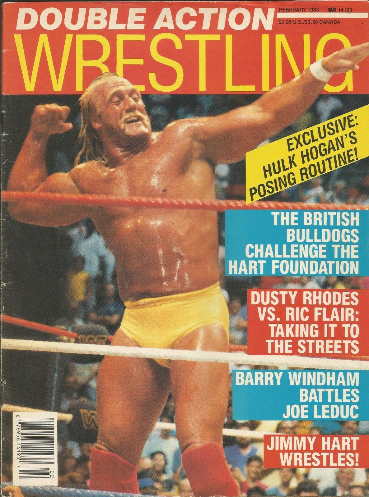 Double Action Wrestling - February 1988