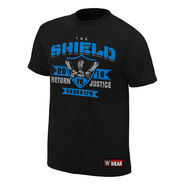 The Shield Return to Justice Brooklyn Special Edition Youth T-Shirt