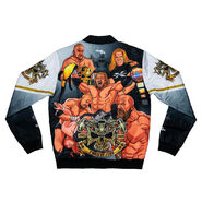 Triple H 25 Years Retro Fanimation Chalk Line Jacket
