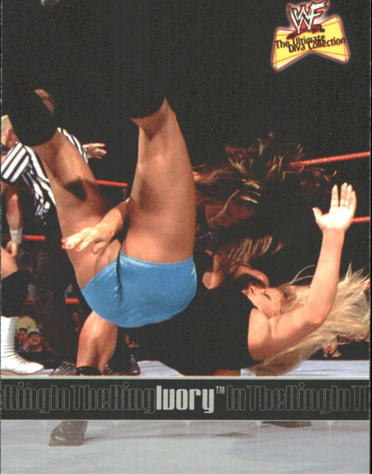 2001 WWF The Ultimate Diva Collection (Fleer) Ivory (No.74)