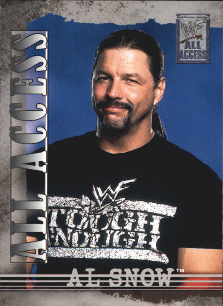 2002 WWF All Access (Fleer) Al Snow (No.22)
