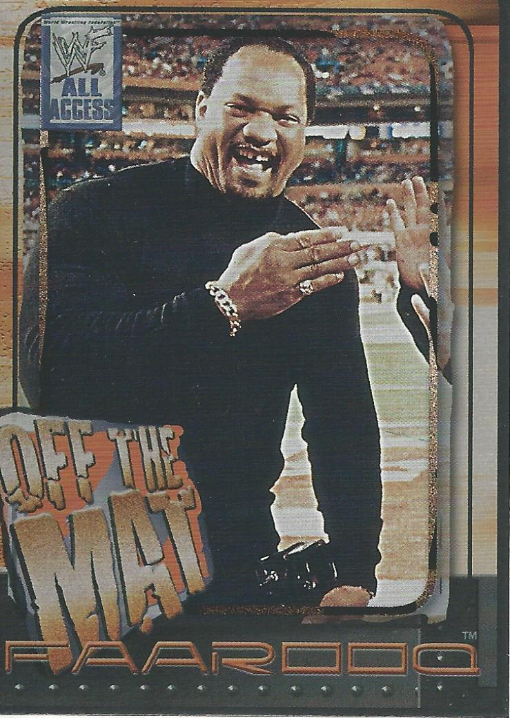 2002 WWF All Access (Fleer) Faarooq (No.60)