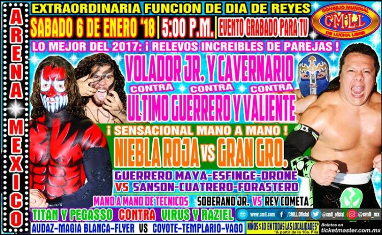 CMLL Sabados De Coliseo (January 6, 2018)
