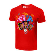 The New Day Unicorn Balloon Authentic T-Shirt