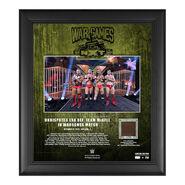 Undisputed Era NXT WarGames 2020 15x17 Commemorative Plaque