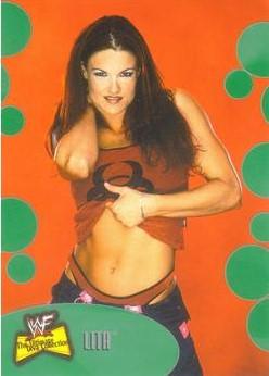 2001 WWF The Ultimate Diva Collection (Fleer) Lita (No.26)
