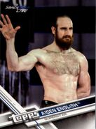 2017 WWE (Topps) Then, Now, Forever Aiden English 138