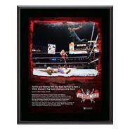 Tamina & Natalya WrestleMania 37 10x13 Commemorative Plaque