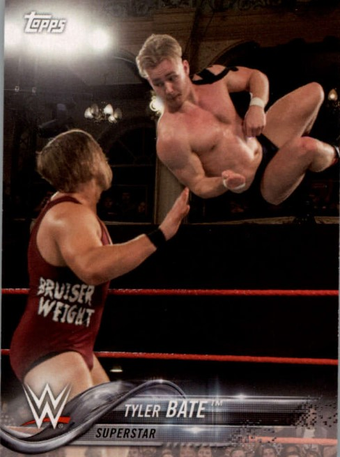 2018 WWE Wrestling Cards (Topps) Tyler Bate (No.95)