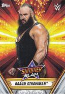 2019 WWE SummerSlam (Topps) Braun Strowman 4