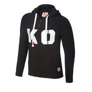 Kevin Owens KO Tri-Blend Full-Zip Hoodie Sweatshirt