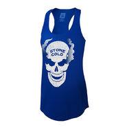 Stone Cold Steve Austin Smoking Skull Women's Tank Top