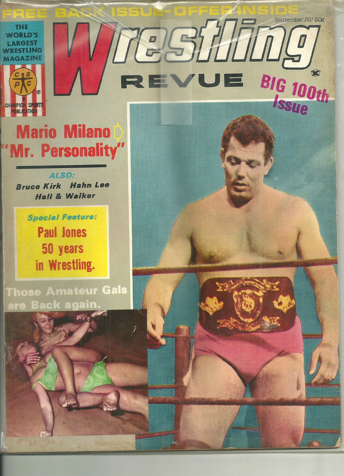 Wrestling Revue - September 1970