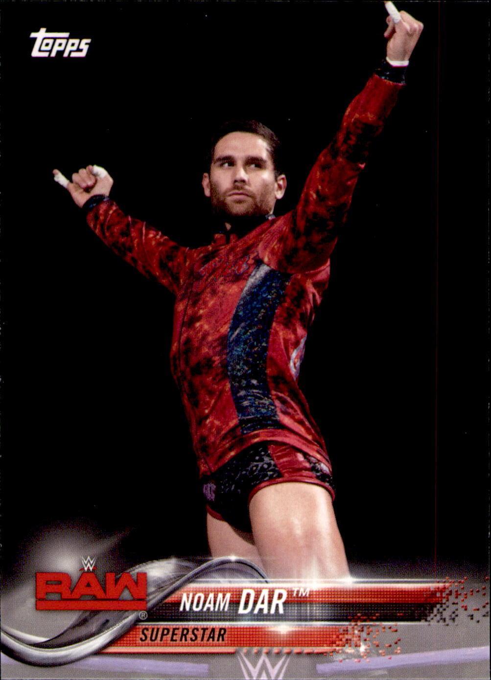 2018 WWE Wrestling Cards (Topps) Noam Dar (No.70)