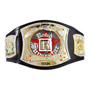 Edge Rated-R Spinner WWE Championship Replica Title Belt