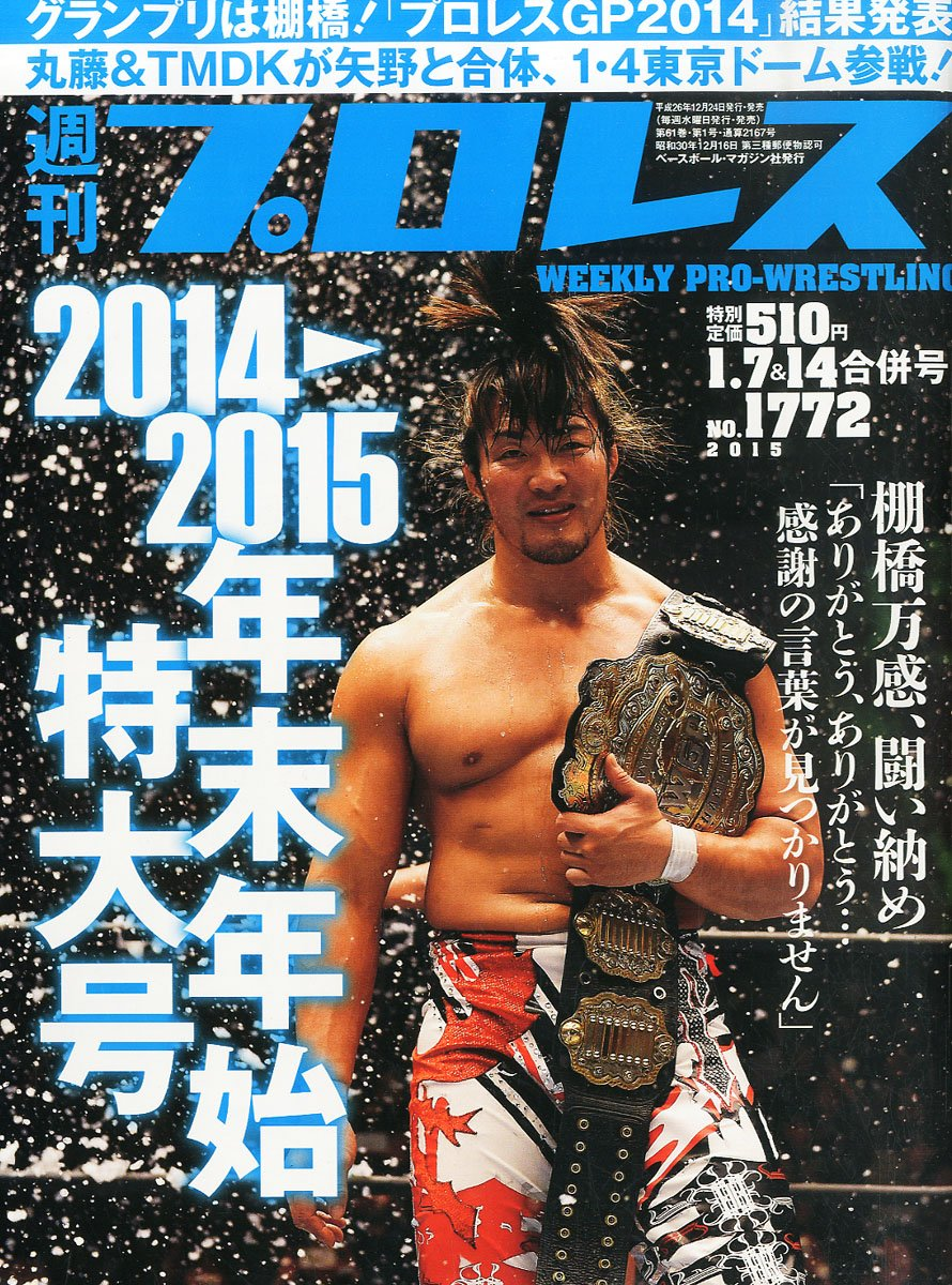 Weekly Pro Wrestling No. 1772