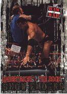 2001 WWF RAW Is War (Fleer) Undertaker vs. The Rock 93