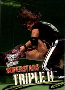 2001 WWF WrestleMania (Fleer) Triple H 40