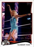 2014 WWE (Topps) Summer Rae 48