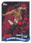 2018 WWE Heritage Wrestling Cards (Topps) Xavier Woods 89