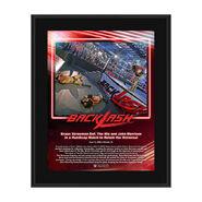 Braun Strowman Backlash 2020 10x13 Commemorative Plaque