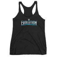 WWE Evolution 2018 Logo Women's Racerback Tank Top
