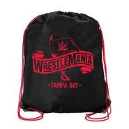 WrestleMania 36 Drawstring Bag