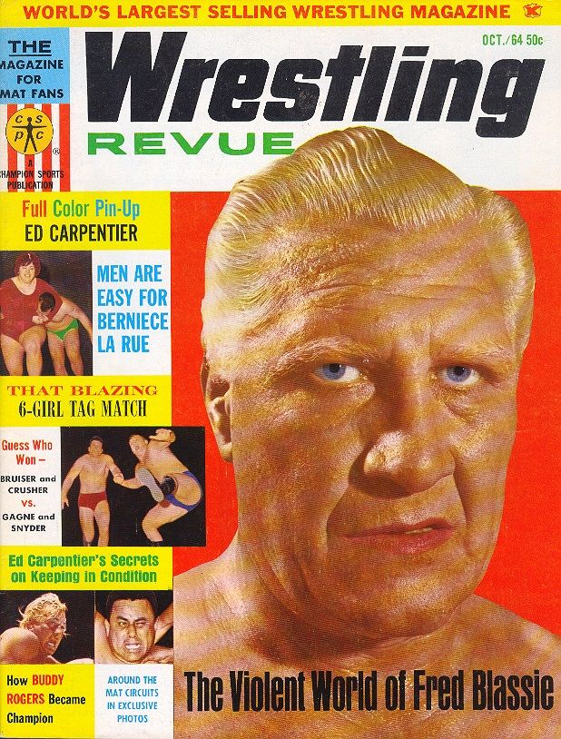 Wrestling Revue - October 1964