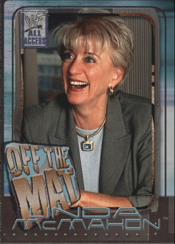 2002 WWF All Access (Fleer) Linda McMahon (No.61)