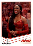 2013 WWE (Topps) Naomi 27