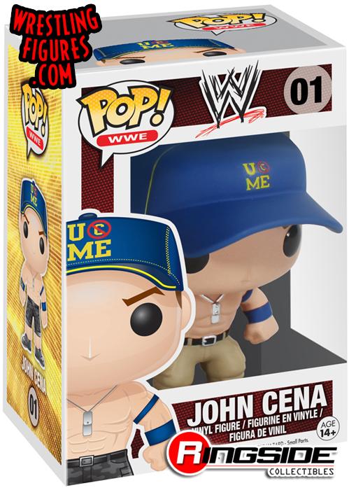 John Cena - Pop WWE Vinyl (Series 1)