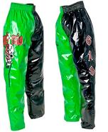 Rey Mysterio Green Black Youth Replica Pants