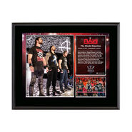 The Shield Reunites 10 x 13 Commemorative Photo Plaque