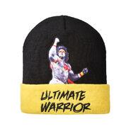 Ultimate Warrior Cuffed Knit Beanie Hat
