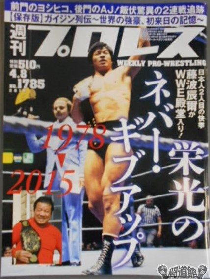 Weekly Pro Wrestling No. 1785