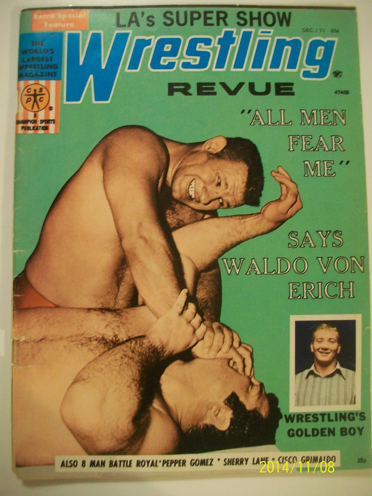 Wrestling Revue - December 1971