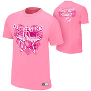 Alberto Del Rio Rise Above Cancer Pink Authentic T-Shirt