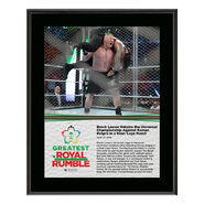 Brock Lesnar Greatest Royal Rumble 2018 10 x 13 Photo Plaque