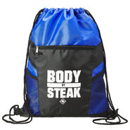 Heavy Machinery Body By Steak Drawstring Bag