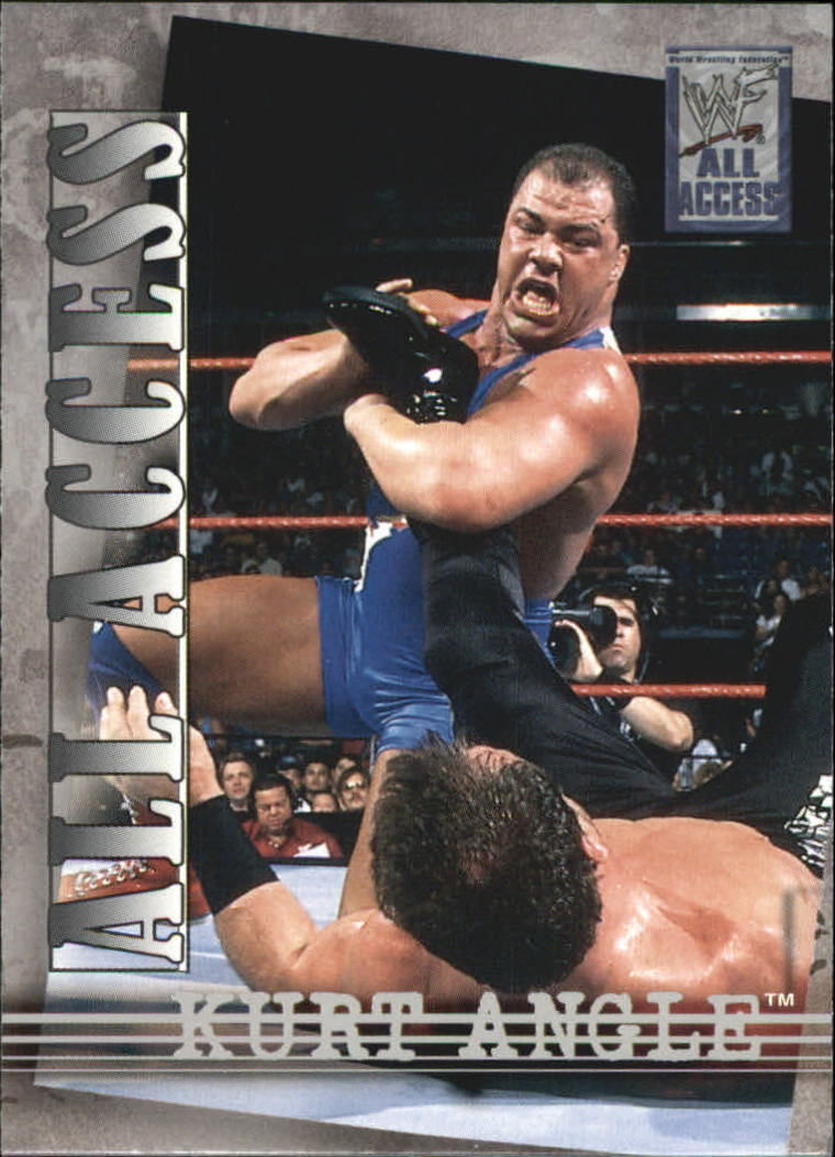 2002 WWF All Access (Fleer) Kurt Angle (No.7)