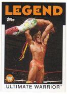 2016 WWE Heritage Wrestling Cards (Topps) Ultimate Warrior 109