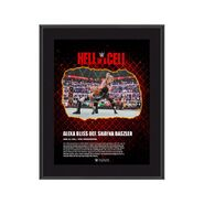 Alexa Bliss Hell in A Cell 2021 10 x 13 Commemorative Plaque